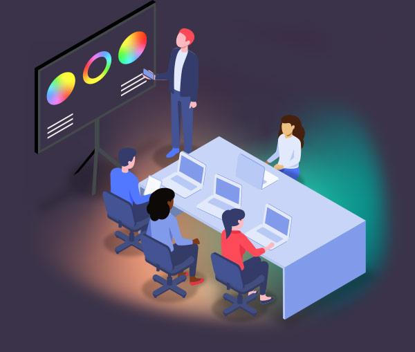 Onsite Training Illustration